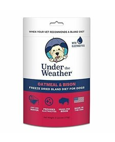 UTW Oatmeal & Bison 6oz