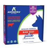 Answers Pet Food Answer's Beef Patties 4 lb