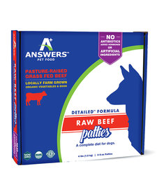 Answer's Beef Patties 4 lb