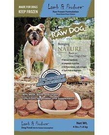 OC Raw Sliders Lamb/Produce 4 lb