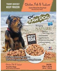 OC Raw Meaty Rox Chk/Fish Pro 3 lb