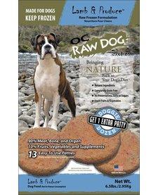 OC Raw Patties Lamb 6.5 lb