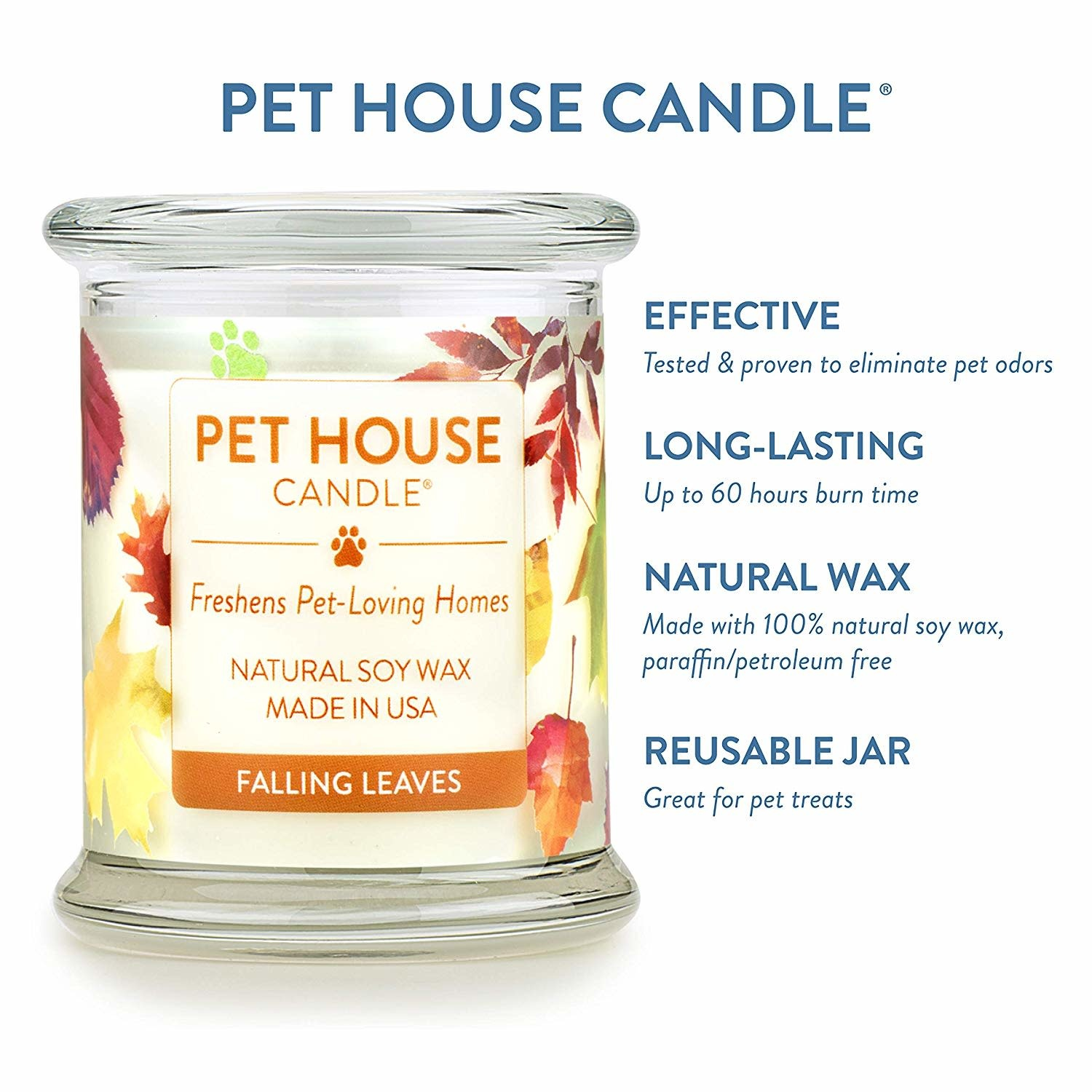 Pet House Candle Pet House Falling Leaves Candle