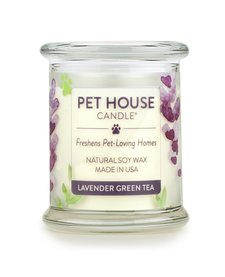 Pet House Lavendar Green Tea Candle