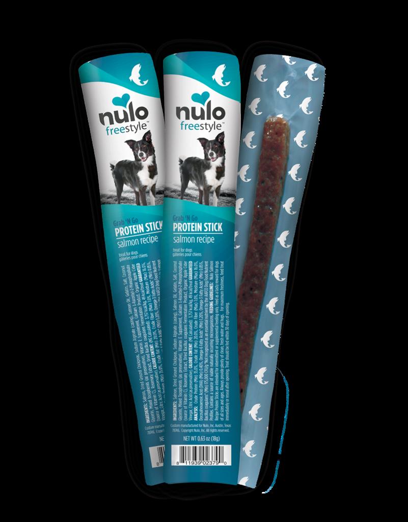 Nulo Nulo Freestyle Protein Sticks Salmon 16 ct