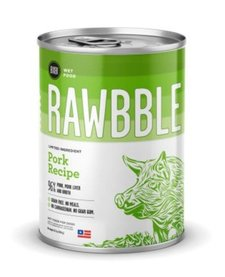 Bixbi Rawbble Pork 96% 12.5 oz Case