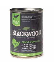 BlackWood Turkey, Liver & Pumpkin 13 oz Case