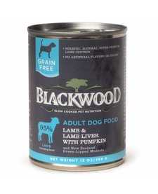 BlackWood Lamb, Lamb Liver & Pumpkin 13 oz Case