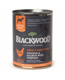 BlackWood Chicken, Salmon & Pumpkin 13 oz Case
