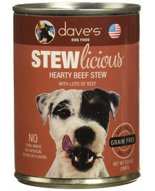 Dave's Dog Hearty Beef Stew 13.2 oz