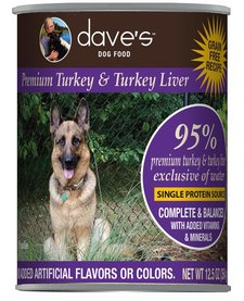 Dave's Dog 95% Turkey 13 oz