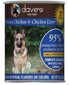 Dave's Dog 95% Chicken 13 oz
