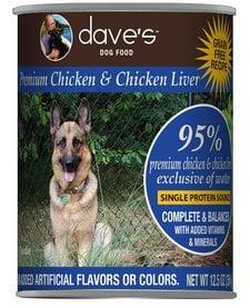 Dave's Dog 95% Chicken 13 oz