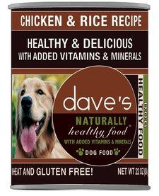 Dave's Dog Chicken & Rice 22 oz