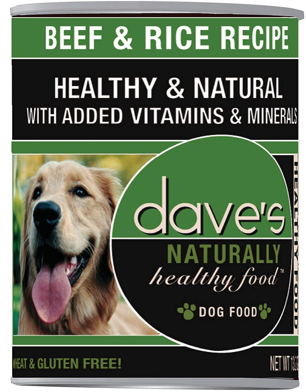 Dave's Dave's Dog Beef & Rice 13.2 oz