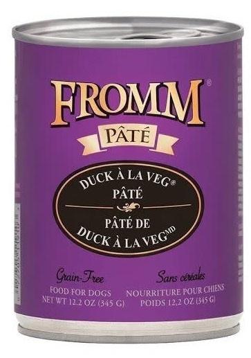 Fromm Family Foods LLC Fromm Duck A La Veg Pate 12.2 oz