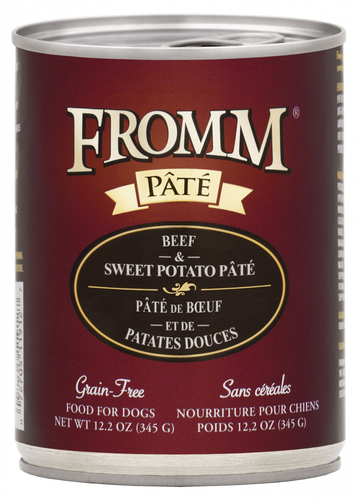 Fromm Family Foods LLC Fromm Dog Beef Venison Pate 12.2 oz