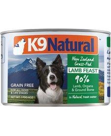 K9 Natural Dog Lamb 6 oz