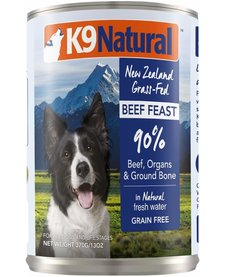 K9 Natural Dog Beef 13 oz Case