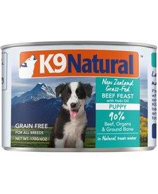 K9 Natural Puppy Beef/Hoki 6 oz