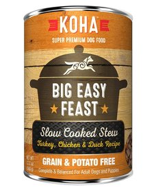 Koha Big Easy Feast 12.7 oz Case