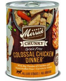 Merrick Colossal Chicken Dinner 12.7oz