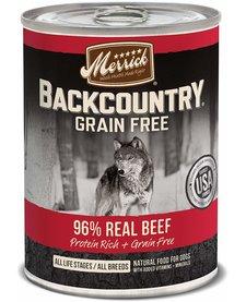 Merrick Backcountry 96% Beef 12.7oz