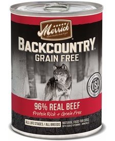 Merrick BCountry 96% Beef 12.7oz