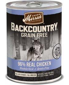 Merrick Backcountry 96% Chicken 12.7oz