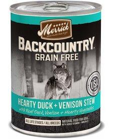 Merrick BCountry Duck/Venison Stew 12.7oz