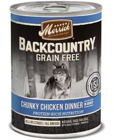 Merrick BCountry Chunky Chicken 12.7 oz