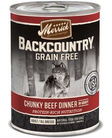 Merrick BCountry Chunky Beef 12.7 oz