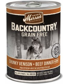 Merrick BCountry Chunky Venison/Beef 12.7 oz
