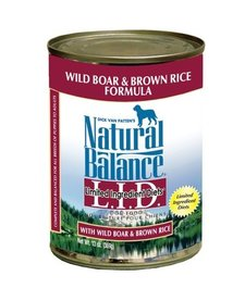 Natural Balance Boar 13 oz Case
