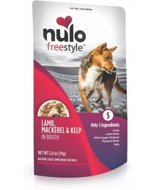 Nulo Freestyle Lamb, Saba & Kelp 2.8 oz Case