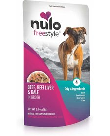 Nulo Freestyle Beef, Beef liver & Kale 2.8 oz Case