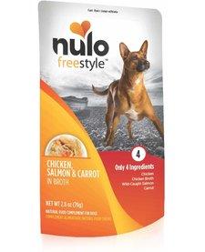 Nulo Freestyle Chicken, Salmon & Carrot 2.8 oz
