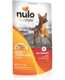 Nulo Freestyle Chicken, Salmon & Carrot 2.8 oz Case