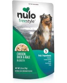 Nulo Freestyle Chicken, Duck & Kale 2.8 oz Case