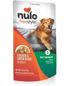 Nulo Freestyle Chicken & Green Beans 2.8 oz Case