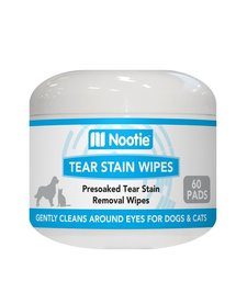 Nootie Tear Stain Wipes 60 ct