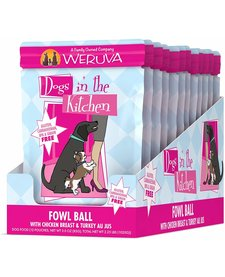 Weruva DITK Fowl Ball 2.8 oz Case