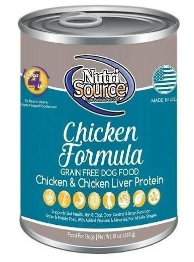 Nutrisource (KLN) NutriSource GF Chicken 13 oz