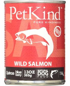 Petkind Wild Salmon 13 oz Case