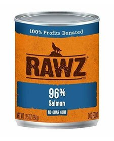 Rawz 96% Salmon 12.5 oz Case