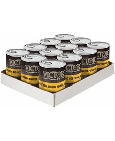 Victor Chicken & Rice 13.2 oz Case