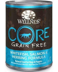 Wellness Core Wfish/Salm/Herring 12.5 oz