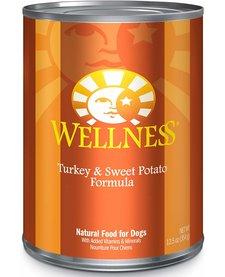 Wellness Turkey Sw Potato 12oz