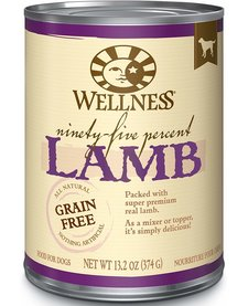 Wellness 95% Lamb 12.5 oz