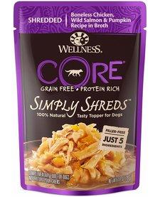 Wellness Core Simply Shreds Chk/Sal 2.8 oz Case